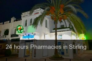 24 hours Pharmacies in Stirling