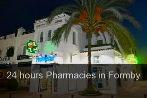 24 hours Pharmacies in Formby