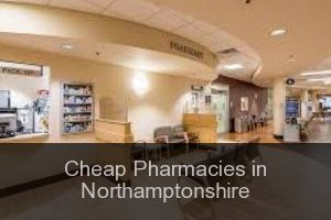 Cheap Pharmacies in Northamptonshire