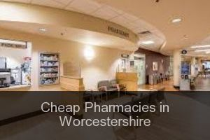 Cheap Pharmacies in Worcestershire