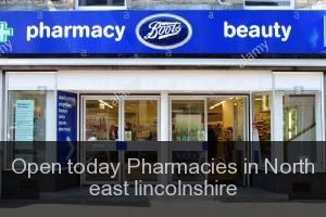 Open today Pharmacies in North east lincolnshire