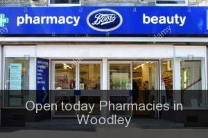 Open today Pharmacies in Woodley