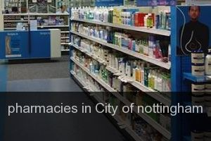 Pharmacies in City of nottingham