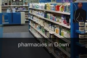 Pharmacies in Down